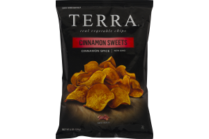 Terra Real Vegetable Chips Cinnamon Sweets Cinnamon Spice