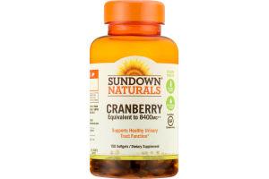 Sundown Naturals Cranberry Dietary Supplement Softgels - 150 CT