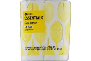 Essentials Bath Tissue - 4 CT