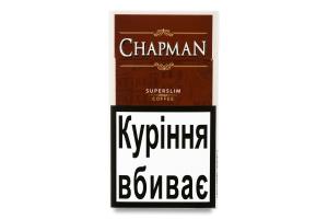 Сигарети з фільтром Coffee Superslim Chapman 20шт