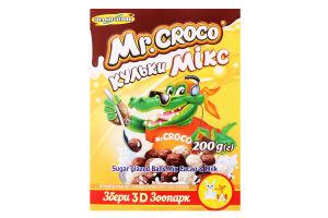 Сніданки сухі кульки Мікс Mr. Croco к/у 200г