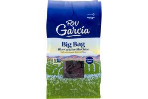 RW Garcia Big Bag Blue Corn Tortilla Chips