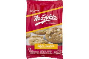 Mrs. Fields Premium Cookie Dough White Chocolate Macadamia Nut