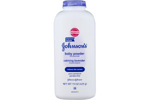 Johnson's Baby Powder Calming Lavender