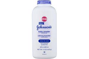 Johnson's Baby Powder Calming Lavender