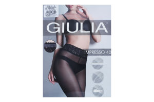 Колготки жіночі Giulia Impresso 40den 2-S daino