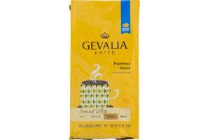 Gevalia Kaffe Espresso Roast Ground Coffee Dark