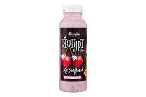 Йогурт 2.7% из козьего молока с вишней Доообра Ферма п/бут 300мл
