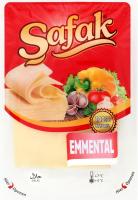 Сир 45% нарізний Emmental Safak лоток 150г