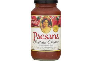 Paesana Sicilian Style Pasta Sauce Sicilian Gravy