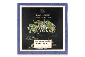 Чай чорний індійський гранульований Масала Teahouse к/у 20х2.5г
