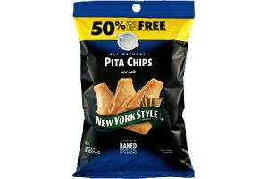 New York Style All Natural Sea Salt Pita Chips