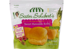 Sister Schubert S Rolls Sweet Hawaiian 8 Ct Sister Schubert S