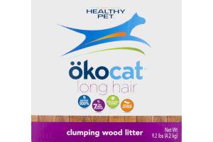 Healthy Pet Okocat Long Hair Clumping Wood Litter