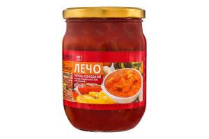 Перець солодкий різаний в томатному соусі Лечо Хіт продукт с/б 500г