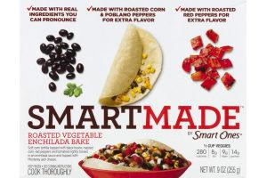 SmartMade Roasted Vegetable Enchilada Bake