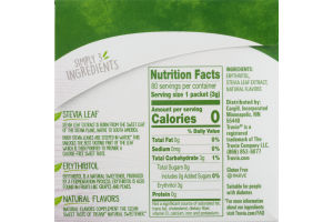 Truvia Calorie-Free Sweetner from the Stevia Leaf Packets - 80 CT