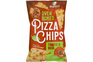 Napoli's Oven Baked Pizza Chips Tomato & Basil