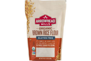 Arrowhead Mills Organic Brown Rice Flour Gluten Free