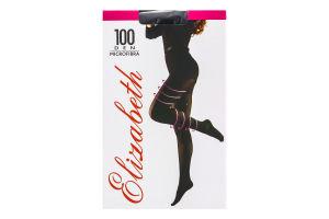 Колготи жіночі Elizabeth Microfibra 100den 2 nero