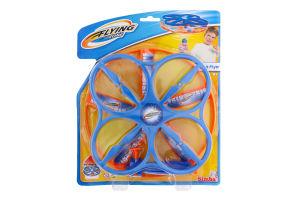 Набір ігровий для дітей від 3років з пусковим пристроєм №7206028 Дрон Flying zone Simba 1шт
