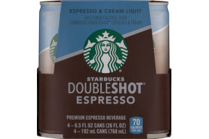 Starbucks Doubleshot Espresso - 4 CT