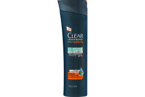 Clear Scalp & Hair Men Dry Scalp Hydration Anti-Dandruff Shampoo + Conditioner 2 In 1
