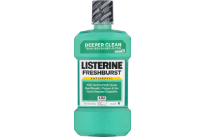 Listerine Antiseptic Mouth Wash Freshburst