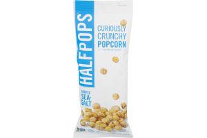 Halfpops Curiously Crunchy Popcorn Simply Sea Salt