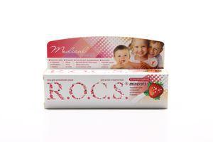 Гель для укрепления зубов для детей и подростков со вкусом клубники Medical Minerals R.O.C.S 45г