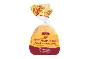 Хлеб половинка в нарезке Александровский Хлібодар м/у 350г