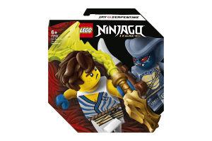 Конструктор для детей от 6лет №71732 Jay vs Serpentine Epic Battle Set Ninjago Lego 1шт