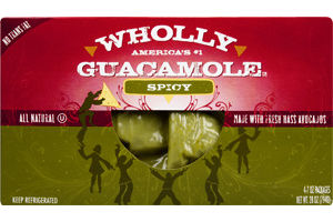 Wholly Guacamole Spicy All Natural