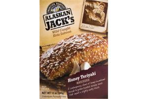 Alaskan Jack's Wild Caught Keta Salmon Honey Teriyaki - 2 CT