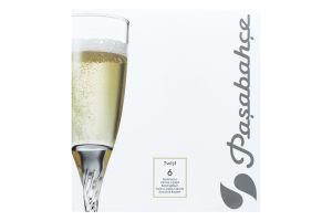 Бокалы для шампанского Pasabahce Twist 150мл