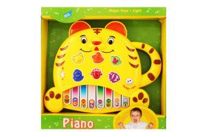 Игрушка развивающая Пианино Тигренок Mommy Love 1шт