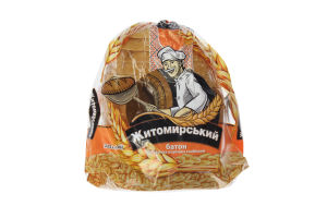 Батон в нарезке половинка Житомирский Хліб Житомира м/у 225г
