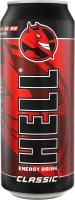Напій безалкогольний енергетичний середньогазований Classic Hell з/б 500мл