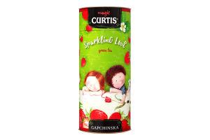 Чай зелений байховий листовий ароматизований Sparkling Love Curtis ж/б 80г