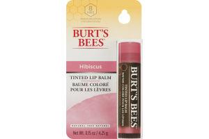 Burt's Bees Tinted Lip Balm Hibiscus