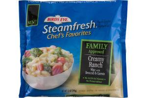 Birds Eye Steamfresh Chef's Favorites Creamy Ranch Mac With Broccoli & Carrots