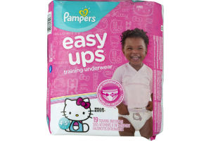 Pampers Easy Ups Training Underwear 37+ lb - 19 CT