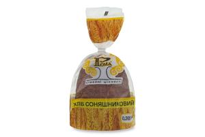 Хліб половинка в нарізці Соняшниковий Рома м/у 0.265кг