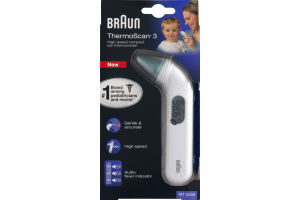 Braun ThermoScan 3 High Speed Compact Ear Thermometer