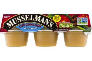 Musselman's Apple Sauce Lite Cinnamon - 6 CT