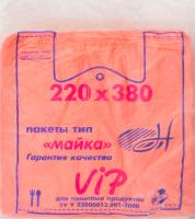 """ПАКЕТ МАЙКА """"ВІП 22*38"""" 200ШТ"""