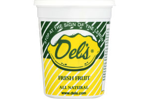 Del's Fresh Fruit Lemon Dry Mix - 8 PK
