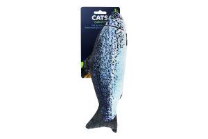 Іграшка для котів, у формі риби, 28см 491005590 И326 (КІН)