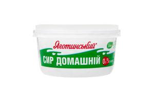 Творог 0% Домашний Яготинський п/у 370г