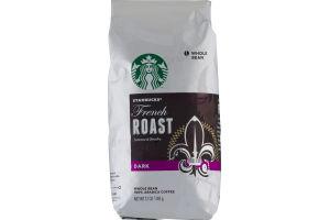 Starbucks French Roast Dark Whole Bean Coffee